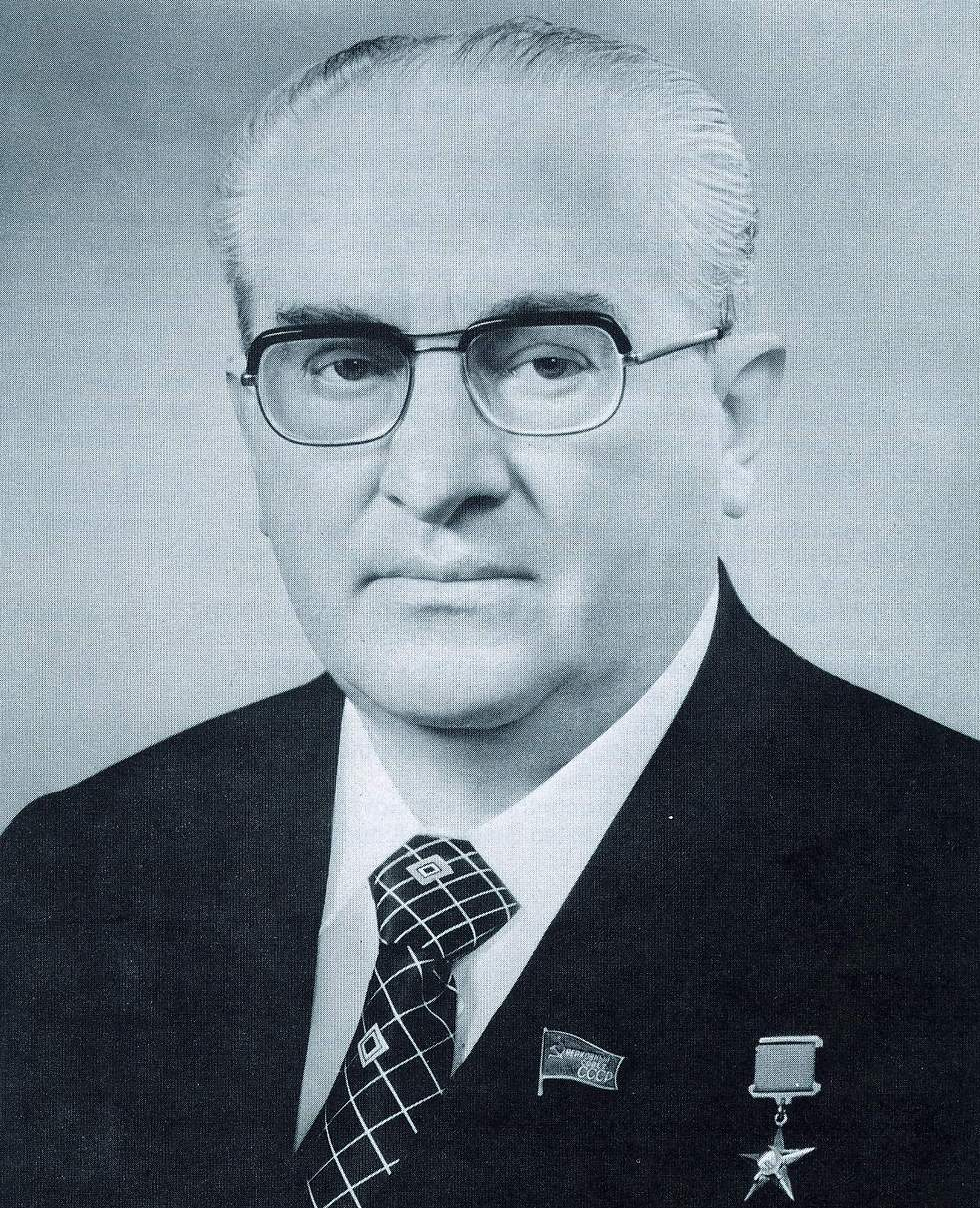 KGB chief and later Soviet leader Andropov