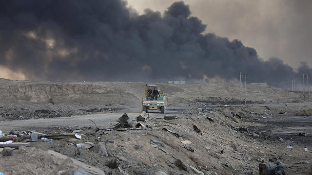 Fighting in the Mosul area, last week (Photo: Reuters)