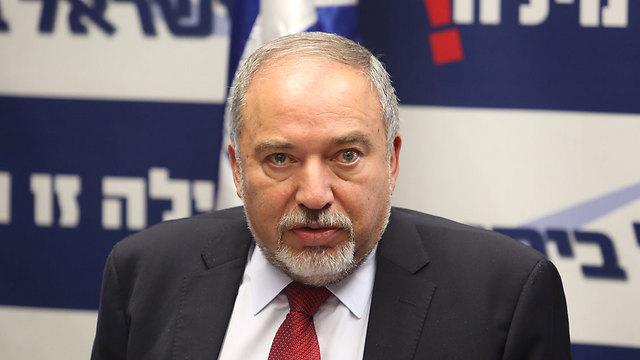 Defense Minister Avigdor Lieberman (Photo: Gil Yohanan)