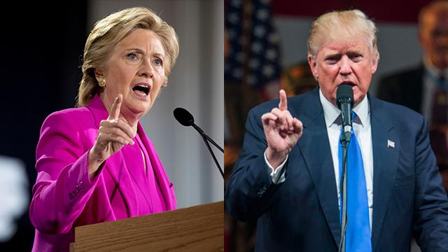 Bad and worse: Clinton vs. Trump (Photos: AP, EPA)