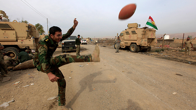 The city of Mosul after being liberated from ISIS (Photo: Reuters)