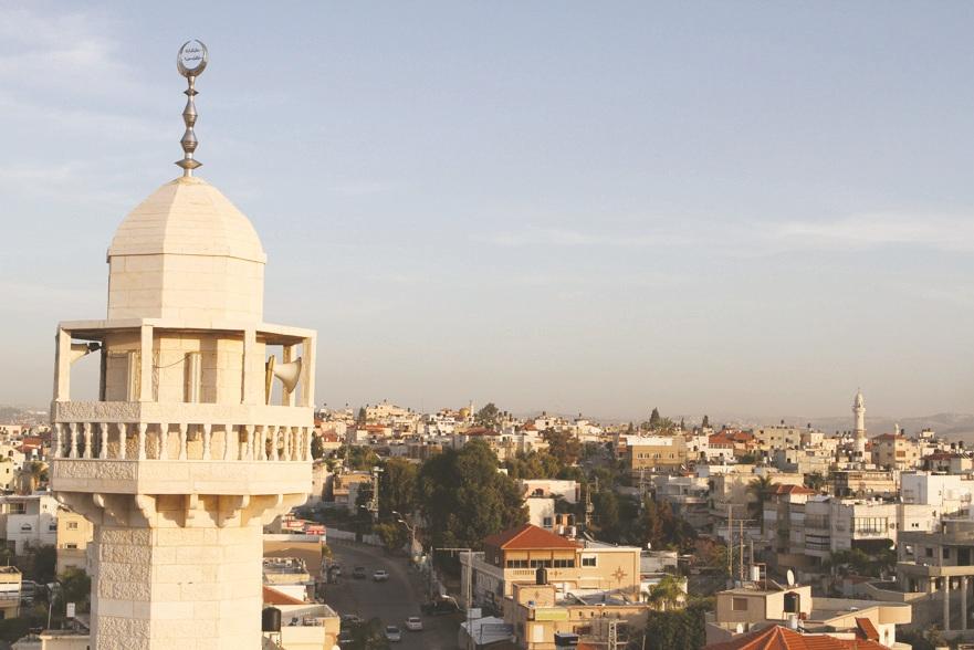 Minaret in Kafr Qasim (Photo: Gil Lerner)