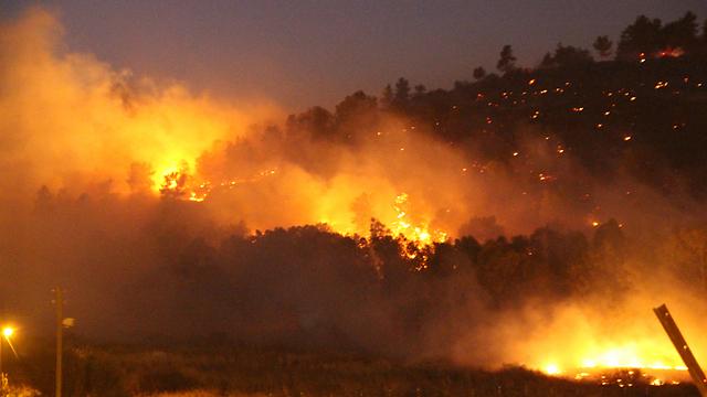 Nirit fire (Photo: Naama Hirsch)