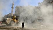 """אסד כובש בדמשק וחלב. המורדים: """"לא ניכנע"""""""