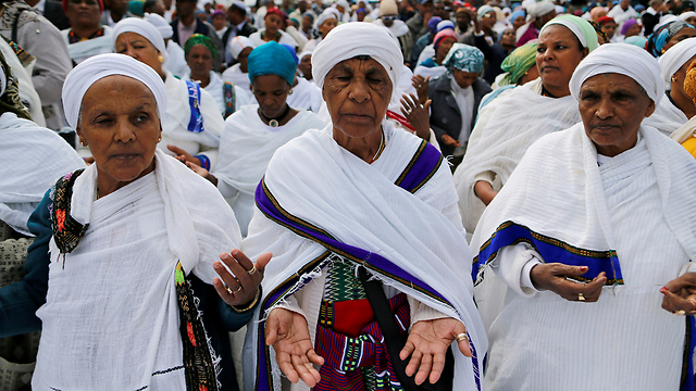 Ethiopian women at the Sigid festival (Photo: Reuters)