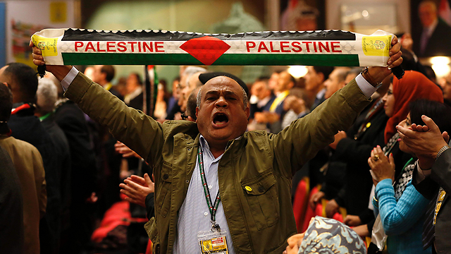 Fatah special conference in Ramallah (Photo: AFP)