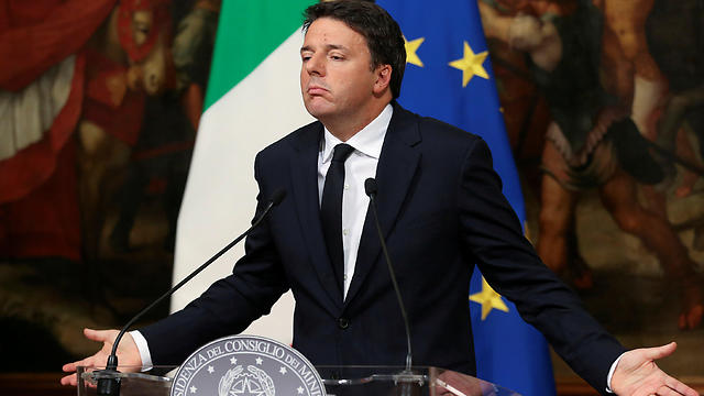 מטאו רנצי מודיע על התפטרותו (צילום: רויטרס)