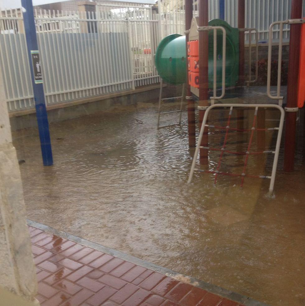 הצפה בגשם האחרון. מה יקרה השבוע?