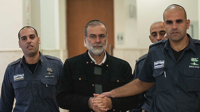 Rabbi David Harrison in court (Photo: Yoav Davidkovich) (Photo: Yoav Davidkavich)