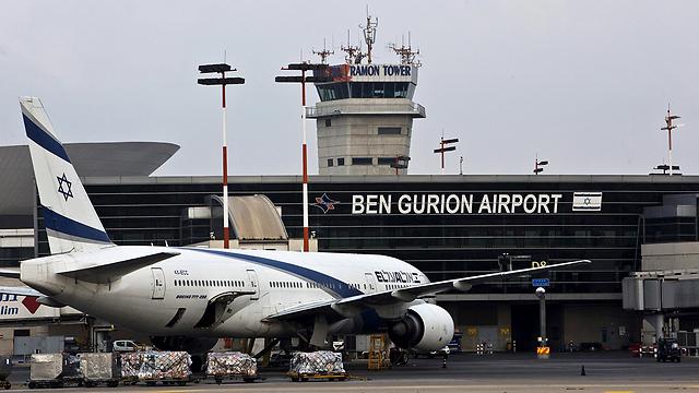 An El Al plane at Ben-Gurion Airport (Photo: Reuters) (Photo: Reuters)