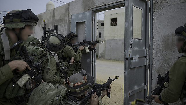 IDF training exercises (Photo: IDF Spokesperson's Unit) (Photo: IDF Spokesperson's Unit)
