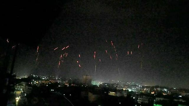 Celebrations in Aleppo on Thursday night