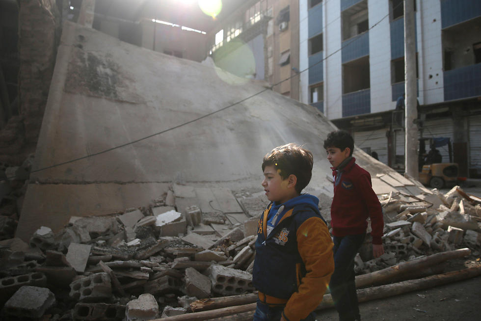 Ceasefire in Damascus (Photo: Reuters)