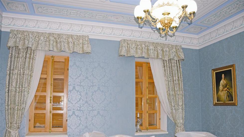 אחד החדרים. 20 חדרי אירוח יוקרתיים (צילום: באדיבות איציק שוויקי)