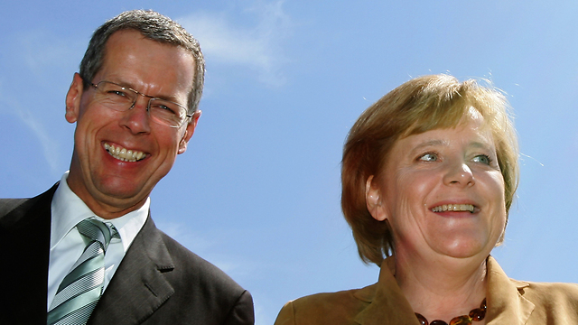 Robbe and Merkel (Photo: Gettyimages)