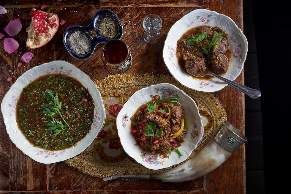 """""""אוכל גיאורגי זה אוכל שמח"""", מסעדת ראצ'ה (צילום: אנטולי מיכאלו)"""