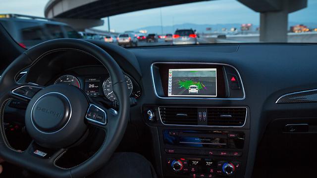 Autonomous vehicle using Mobileye Technology