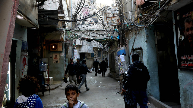 Shatila Refugee Camp (Photo: AFP)
