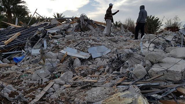 House demolished in Qalansawe, Tuesday