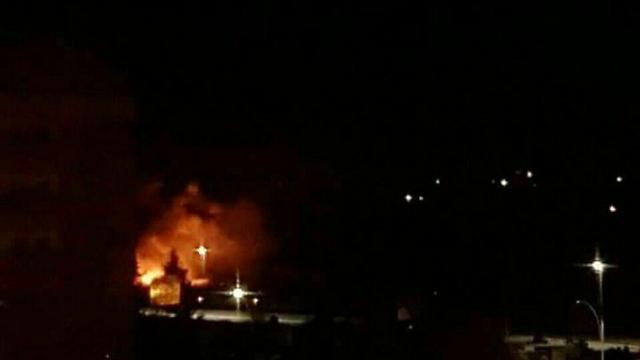 The strike attributed to the Israel Air Force in the Damascus area