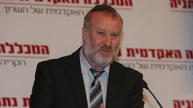 היועץ המשפטי מנדלבליט (צילום: יריב כץ)