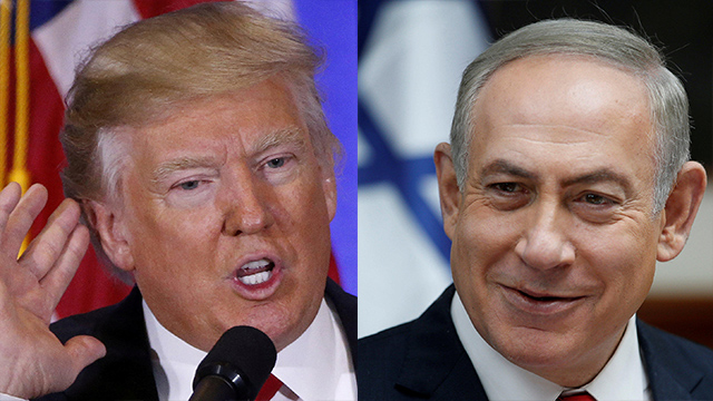 PM Netanyahu (R) and President Trump (L) (Photo: Reuters) (Photo: Reuters)