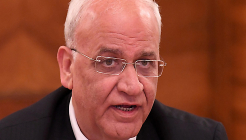 PLO official Saeb Erekat (Photo: AFP)