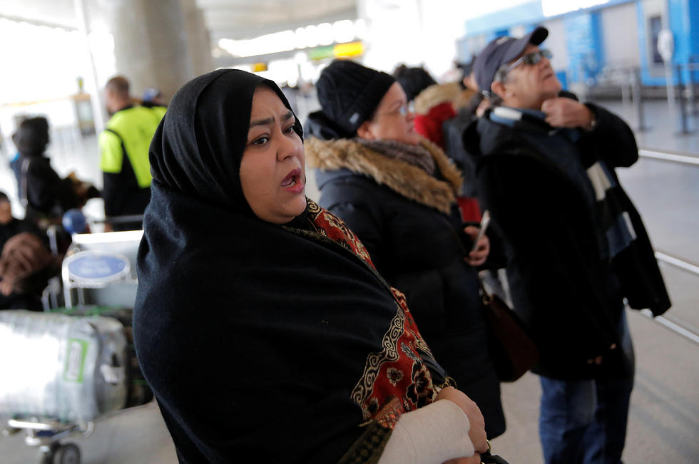 Muslim immigrants at JFK airport (Photo: Reuters) (Photo: Reuters)