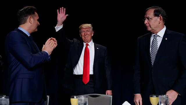 """Trump: """"Bad people are very happy right now."""" (Photo: AP) (Photo: AP)"""