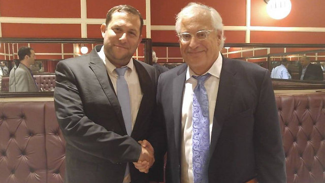 David Friedman with Head of the Samaria Regional Council Yossi Dagan (Photo: Trump Campaign in Israel)