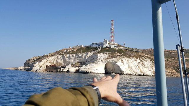 Northern border outpost (Photo: Yoav Zitun)