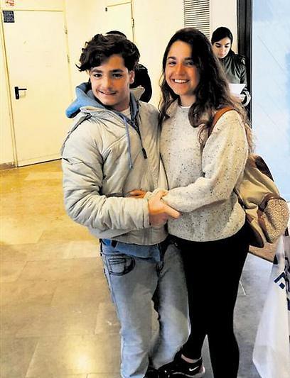 כהן והאחות הדר (צילום: מהאלבום הפרטי)
