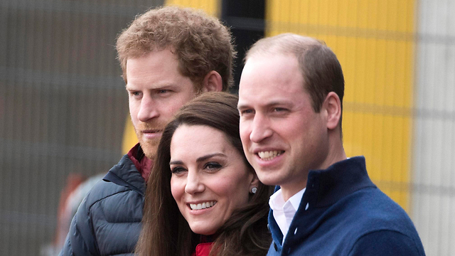 Other possible visitors: The Duke and Duchess of Cambridge before Prince Harry (Photo: EPA)