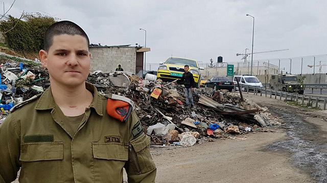 Roditi at the scene of the event (Photo: Yoav Zitun)