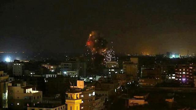 Strike in Gaza