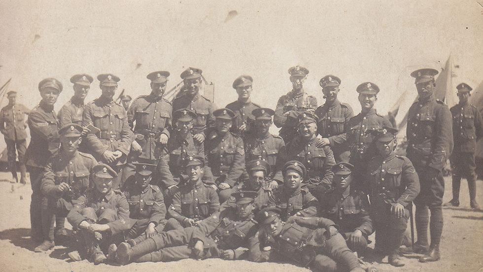 גדוד 38 של קלעי המלך - הבריטים (באדיבות מוזיאון בית הגדודים, משרד הביטחון)