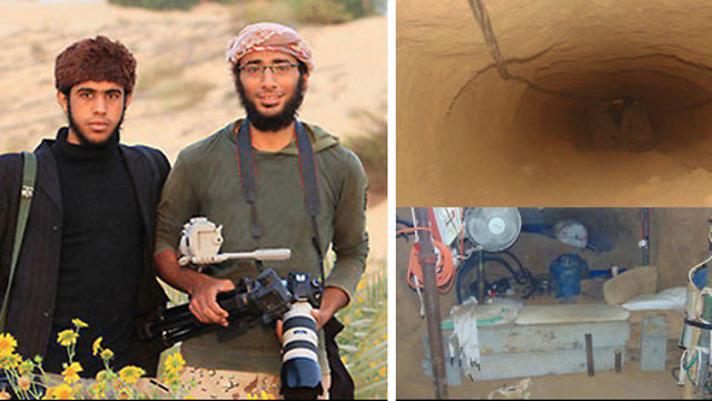 Two ISIS terroists killed in Gaza tunnel attack allegedly carried out by Egypt
