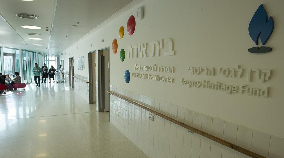 The Ziv Medical Center in Safed (Photo: Efi Shrir)