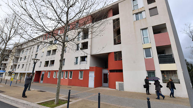 The apartment where the suspects were arrested (Photo: AFP) (Photo: AFP)