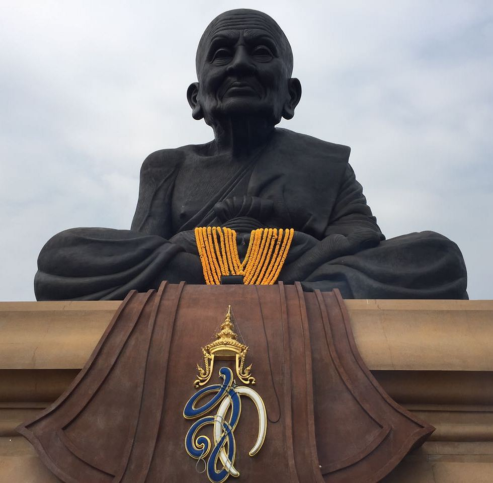 The world's largest statue of a Buddhist monk: Luang Pu Taud (Photo: Gaby Zohar)