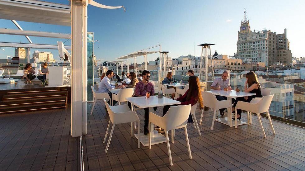"""ה""""Roof-Top"""" בר הכי שיקי ורומנטי במדריד: """"לה טראסה"""""""