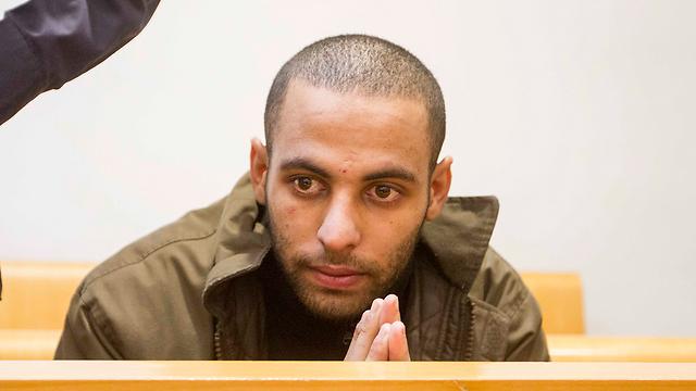 Mohammad Shinawi in court (Photo: Ido Erez) (Photo: Ido Erez)