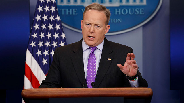 White House press secretary Sean Spicer (Photo: AP)