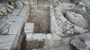 Large Roman gate discovered in Beit Shearim