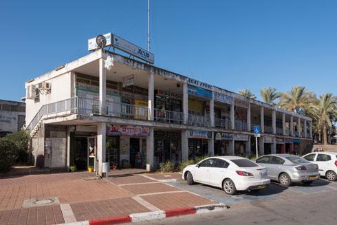 המרכז המסחרי (צילום: ליאור גרודמן)