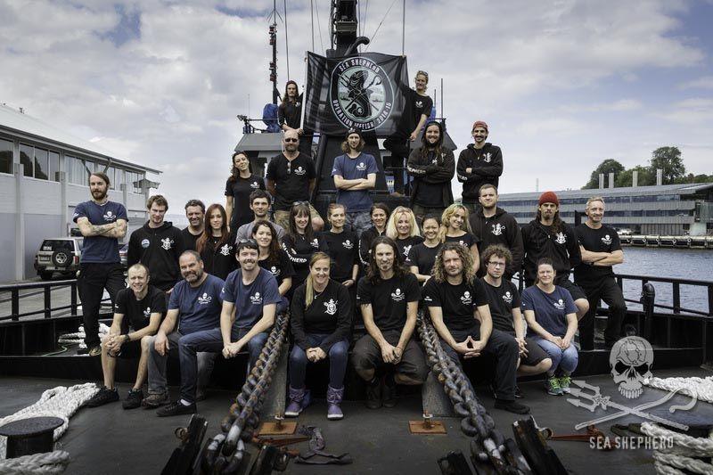 (צילום:  Sea Shepherd / Simon Ager)