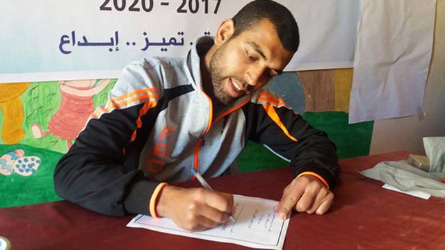 צעיר פלסטיני כותב מכתב לנשיא טראמפ
