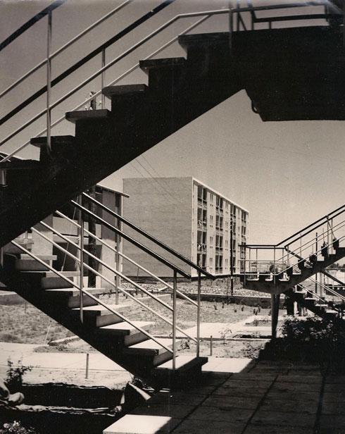 השכונה אז (צילום: באדיבות ארכיון עיריית בת ים)