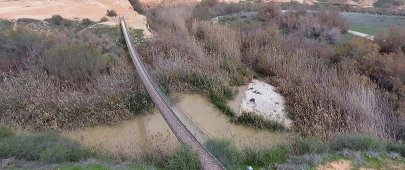 נחל הבשור (צילום: אלי סגל)