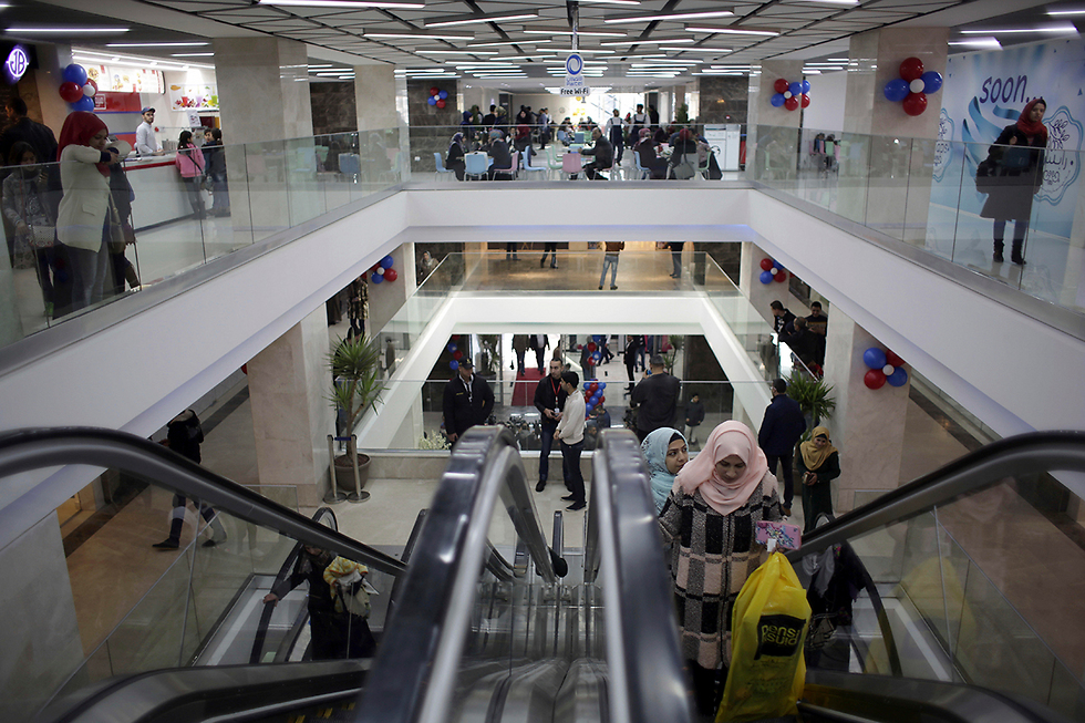 The new Gaza mall. The Palestinian people, even under Hamas, prefer bread over bombs (Photo: AP)